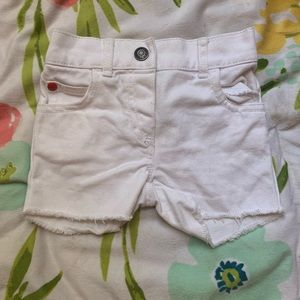 Carter's White Infant Shorts